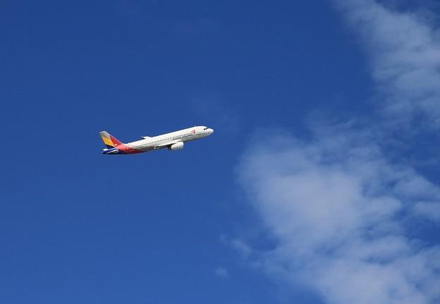 写真: 大空へ夢乗せて