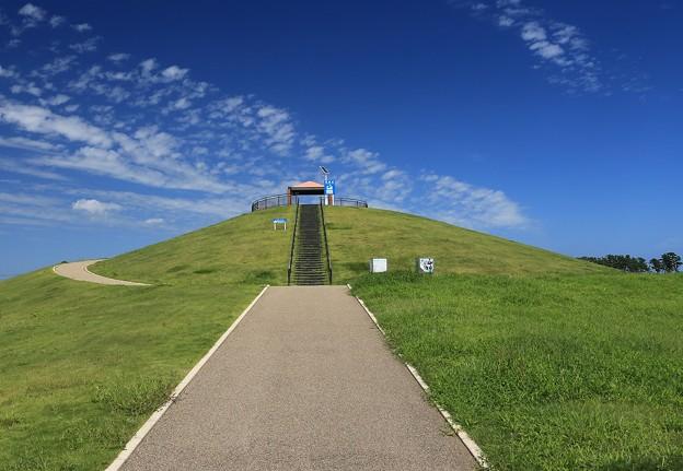 写真: 避難の丘(1)