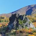 写真: 大日岩の巨大さ