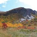 剣岳の紅葉美