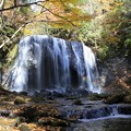 写真: 秋の達沢不動滝