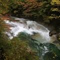写真: すだれ滝の美しさ