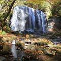写真: 達沢の男滝