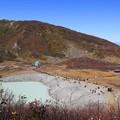 写真: 昭和湖目指して