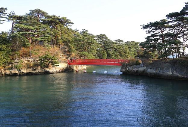 松島に架かる橋