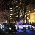 写真: サンタの車