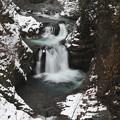 写真: 冬の鳳鳴四十八滝