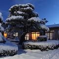 写真: 大雪の朝