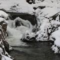 写真: 渓谷の激流
