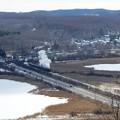 写真: 冬の湿原号