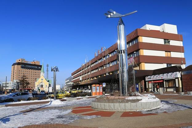 写真: あぁ釧路駅