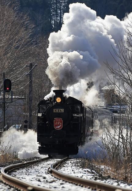 Photos: 迫力の蒸気機関車