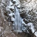 写真: 秋保大滝冬景色