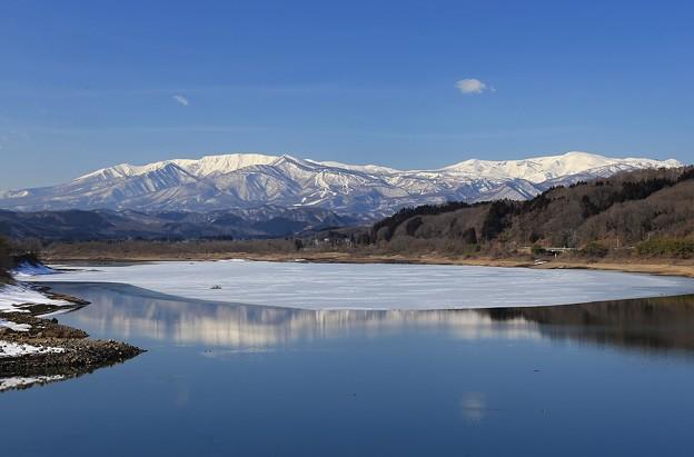 写真: 蔵王連峰の大展望
