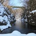 写真: 春近し名取川