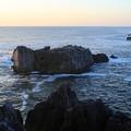写真: 唐桑半島朝の風光