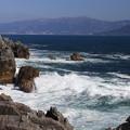 写真: 広田湾の光景