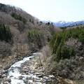 写真: 深山の横川渓谷