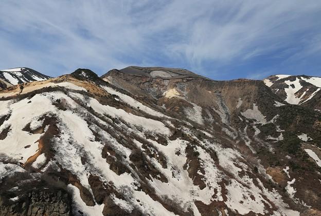 Photos: 荒々しい蔵王五色岳