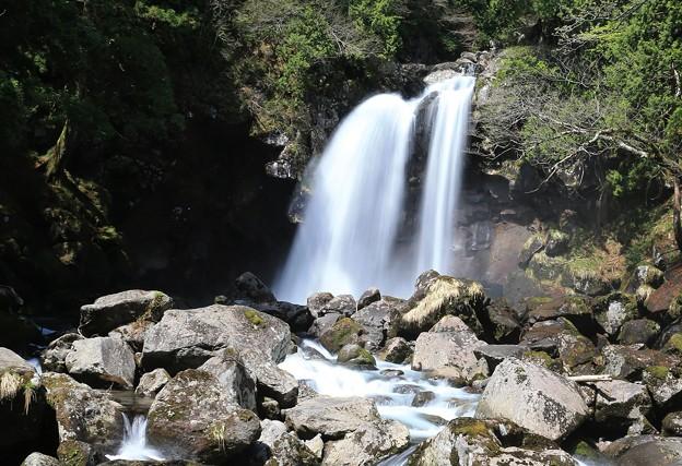 写真: 深山の二の滝
