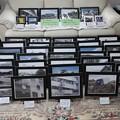 Photos: 大震災写真展の準備
