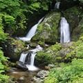 北海道の夫婦滝
