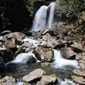 写真: 鳥海山の二ノ滝