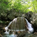 写真: 三日月の滝・福島
