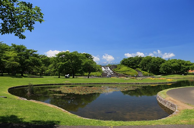 写真: 爽やかな公園