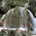 涼味な三日月の滝