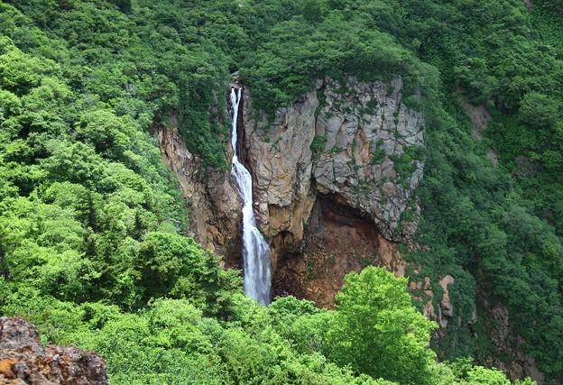 夏の蔵王不帰の滝