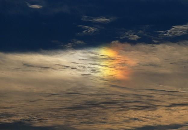 Photos: 夕刻の彩雲