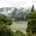 写真: 秘境の里の霧幻峡