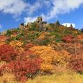 写真: 栗駒山の彩り