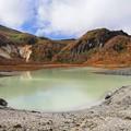 写真: 昭和湖の神秘さ