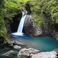 写真: 大釜の滝
