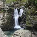 写真: 九十九滝の小滝
