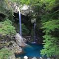 写真: 新居田の滝