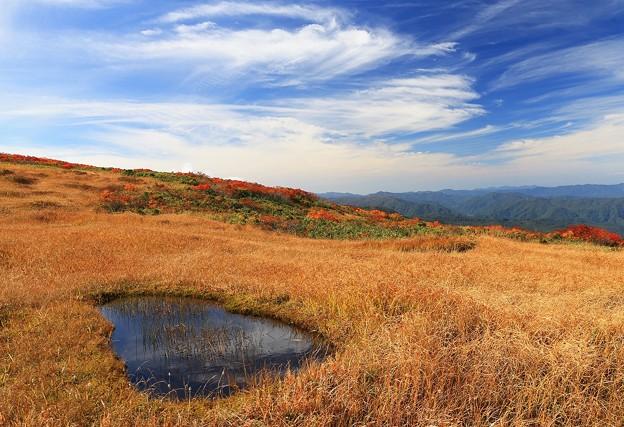 Photos: 秋雲流れる高原