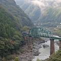 Photos: 大歩危峡の土讃線
