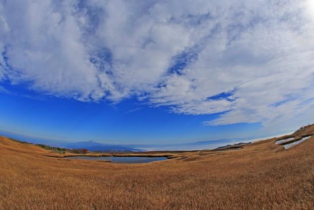 壮大な高原