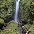 直瀑の美しい神通滝