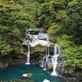 写真: 釜ヶ谷峡の大轟滝
