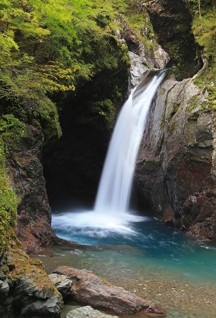 深山の大釜滝