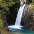 写真: 深山の大釜滝