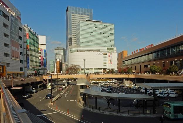 仙台駅前西口の景観