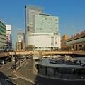 写真: 仙台駅前西口の景観