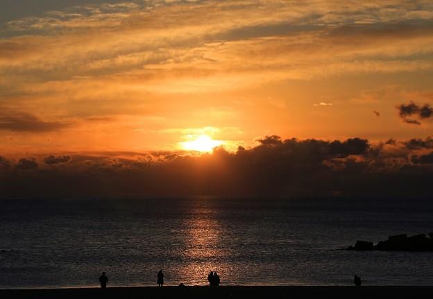 写真: 元旦の日の出
