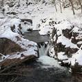 写真: 厳寒の流れ
