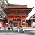 写真: 富士山本宮の鉾立石